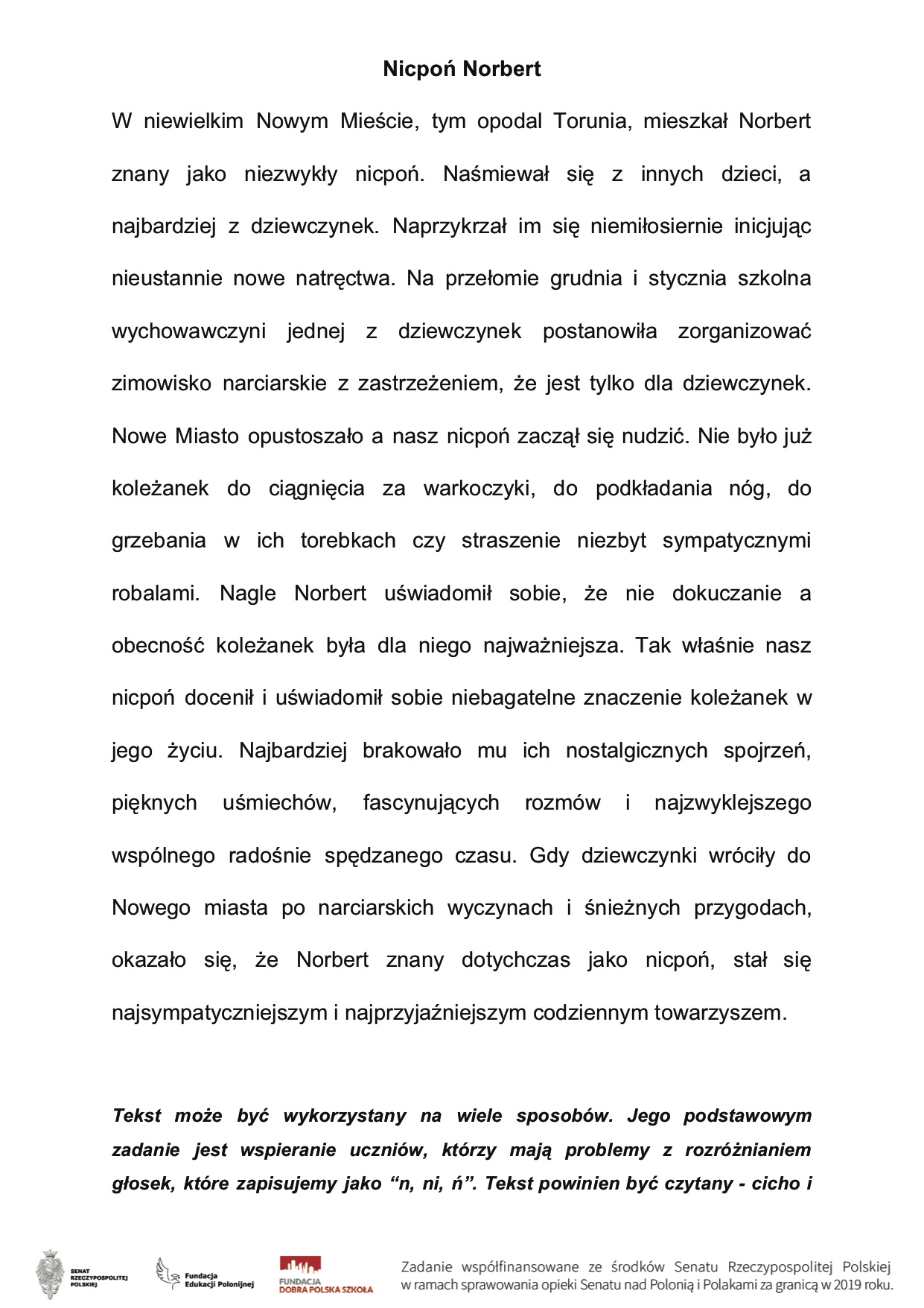 Wiersze Jana Brzechwy W Wersji Dwujęzycznej Polonijny